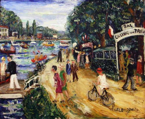 Bal casino du Tremblay sur les bords de Marne - Lucien GENIN