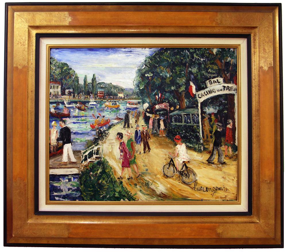 Lucien Génin - Bal casino du Tremblay sur les bords de Marne