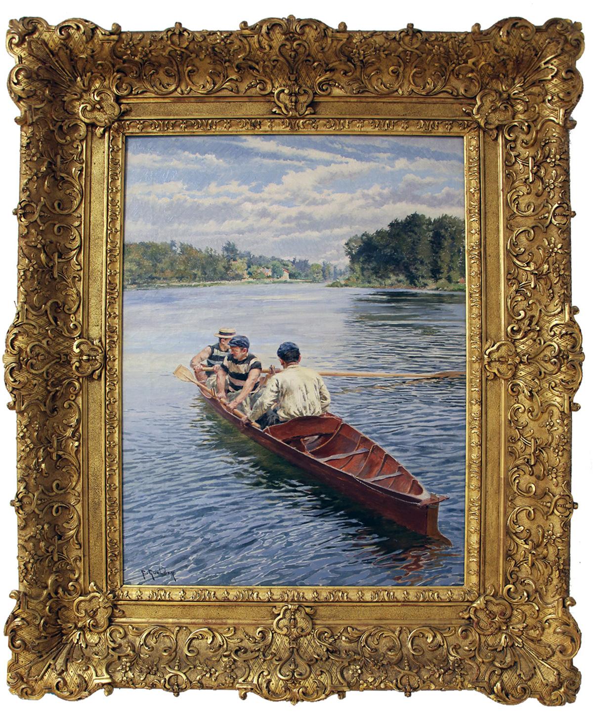 Ferdinand Gueldry - En barque sur la Marne
