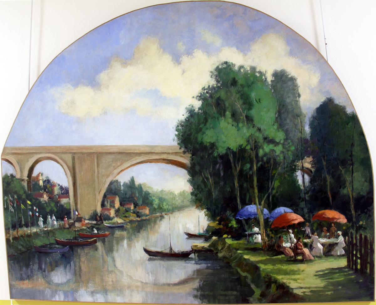 Le Viaduc et la Marne